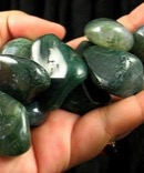 Large Moss Agate Tumbles