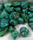 Turquoise Tumbles