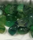 Green Fluorite Tumbles