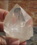 Rainbow Phantom Quartz Point - Zambian