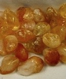Heated Citrine Tumbled Stones