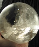 Magnificent Large Rainbow Quartz Sphere