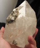 Trigonic Clear Cathedral Mica Included Quartz Crystal