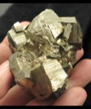 Chunky Pyrite Cluster