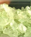 Pale Green Hiddenite Rough Crystals