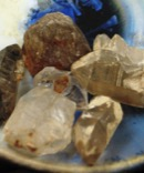 Group of Healing Crystals