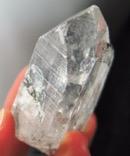 Old Spirit Carbon Included Quartz Crystal