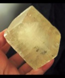 Large Golden Calcite Rhomb