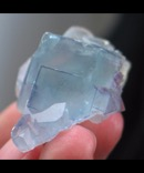 Sky Blue Chinese Fluorite Cluster