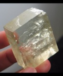 Bi-Color Green Optical Calcite