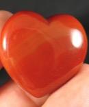 Rich Carnelian Heart