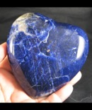 Rich Blue Sodalite Heart