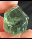 Green Fluorite Formation