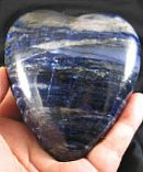 Midnight Blue Sodalite Heart