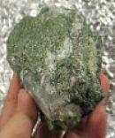 Diopside in Quartz