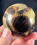 Septarian Calcite Sphere