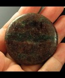 Deeply Warm & Soothing Garnet & Fuchsite Disc India