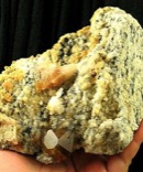 Peace of the Mountain Large Golden Zagi Quartz on Astrophyllite Rare Earth Matrix