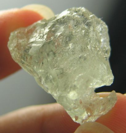 Sweet Etched Solution Aquamarine :: Image is of piece for sale.