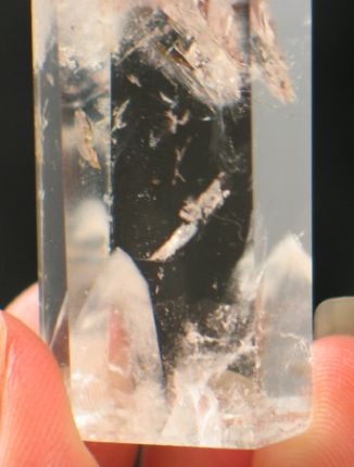 Sweet Rainbow Phantom Quartz Point