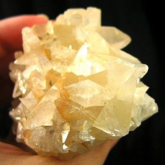 Fantastic Chinese Calcite Cluster :: Image is of piece for sale.