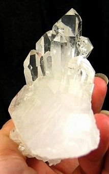 Dazzling Bright Clear Quartz Cluster  :: Image is of piece for sale.
