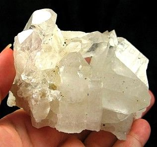 Rare Fluorite Cubes On Dazzling Quartz Cluster :: Image is of piece for sale.