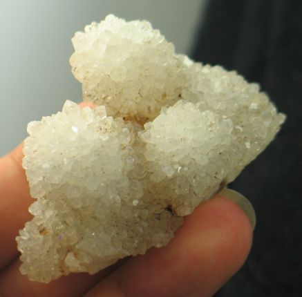 Sparkling Natural Aura/Rhodium Quartz Cluster :: Image is of piece for sale.