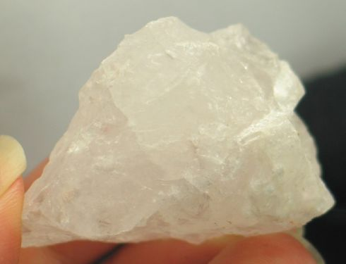 Uplifting Pollucite Crystal - Pakistan :: Image is of piece for sale.