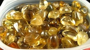 Natural Citrine Tumbles :: Image is of piece for sale.