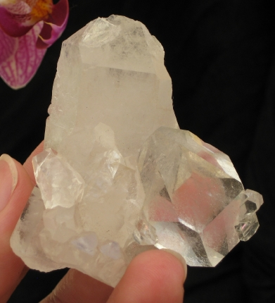 Small DT Quartz Cluster :: Image is of piece for sale.