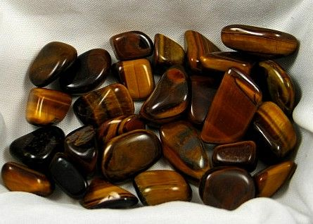 Tumbled Tiger's Eye :: Image is of piece for sale.