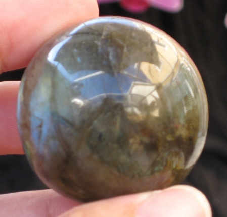 Blue Labradorite Sphere :: Image is of piece for sale.