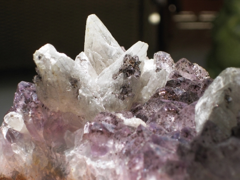 Stunning Amethyst w/Calcite Formation :: Image is of piece for sale.