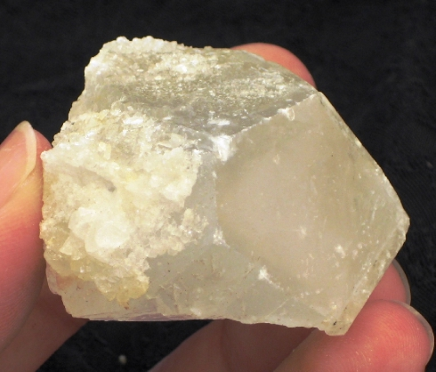 Sweet Pale Blue Celestite Terminated Crystal :: Image is of piece for sale.