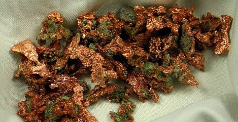 Natural Copper Formations :: Image is of piece for sale.