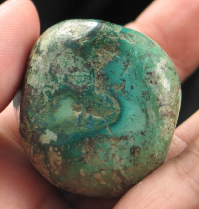 Dreamy Skies Shattuckite Freeform :: Image is of piece for sale.