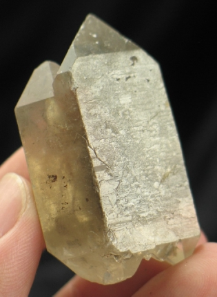 DT/ET Smoky Quartz Crystal :: Image is of piece for sale.