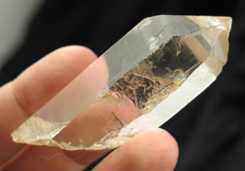 Zambian Warrior Quartz Crystal :: Image is of piece for sale.