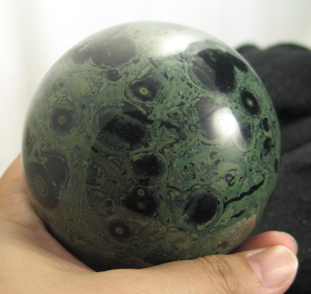 Kombaba Jasper Sphere :: Image is of piece for sale.