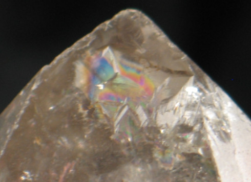 Tibetan Phantom Carbon Enhydro DT Crystal :: Image is of piece for sale.