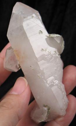 Hematite Phantom Quartz Crystal w/Companions :: Image is of piece for sale.