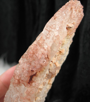 Fascinating DT Thermo Solution Quartz Wth Red Hematite :: Image is of piece for sale.
