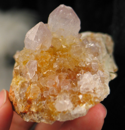 Golden Amethyst Spirit Quartz Cluster :: Image is of piece for sale.