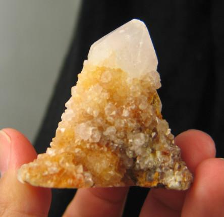 Golden Spirit Quartz Cluster :: Image is of piece for sale.