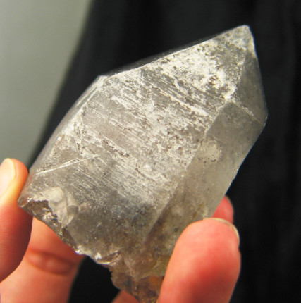 Tibetan Graphite Moving Enhydro Crystal w/RKs :: Image is of piece for sale.