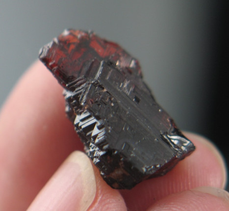 Etched Spessartine Garnet :: Image is of piece for sale.