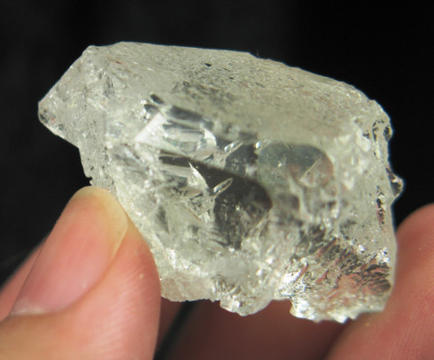Pale Gemmy Aquamarine Crystal :: Image is of piece for sale.