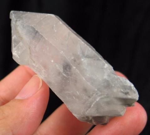 Carbon Phantom DT/ET Quartz Crystal :: Image is of piece for sale.