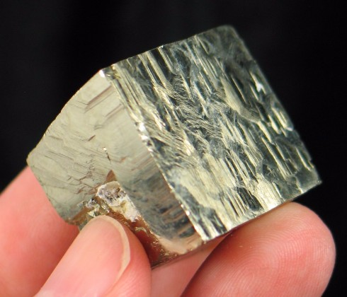 Bright Pyrite Cube Spain :: Image is of piece for sale.